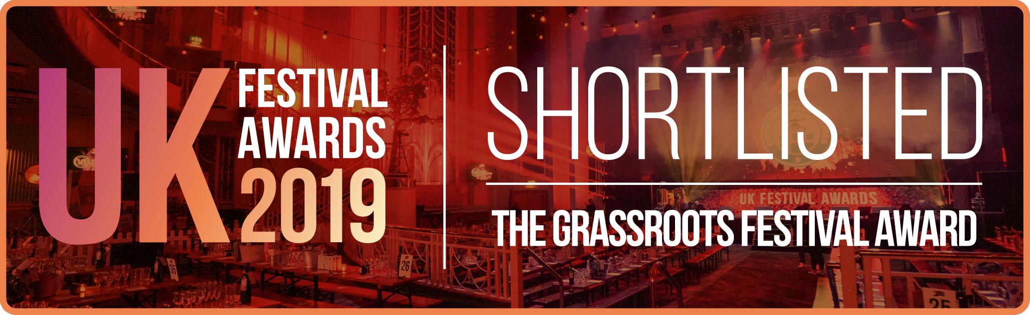 grassroots festival award